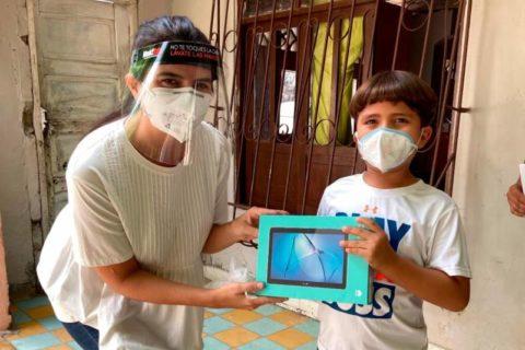 La Fundación Gases del Caribe entrega 275 tablets a estudiantes y docentes del Atlántico
